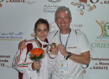 Hanna World Champ bronze medalist