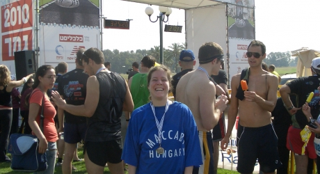 Tel Aviv félmaraton - 2010