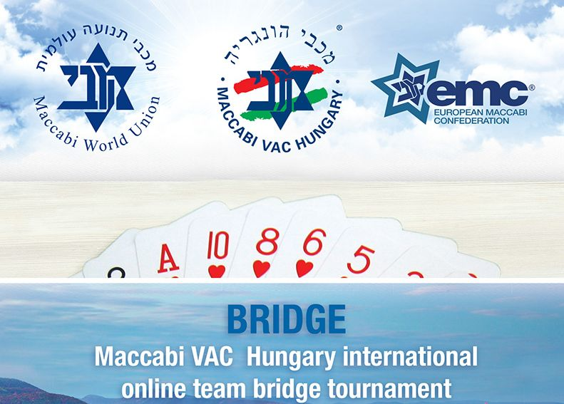 Results of Maccabi VAC Hungary international online team bridge tournament