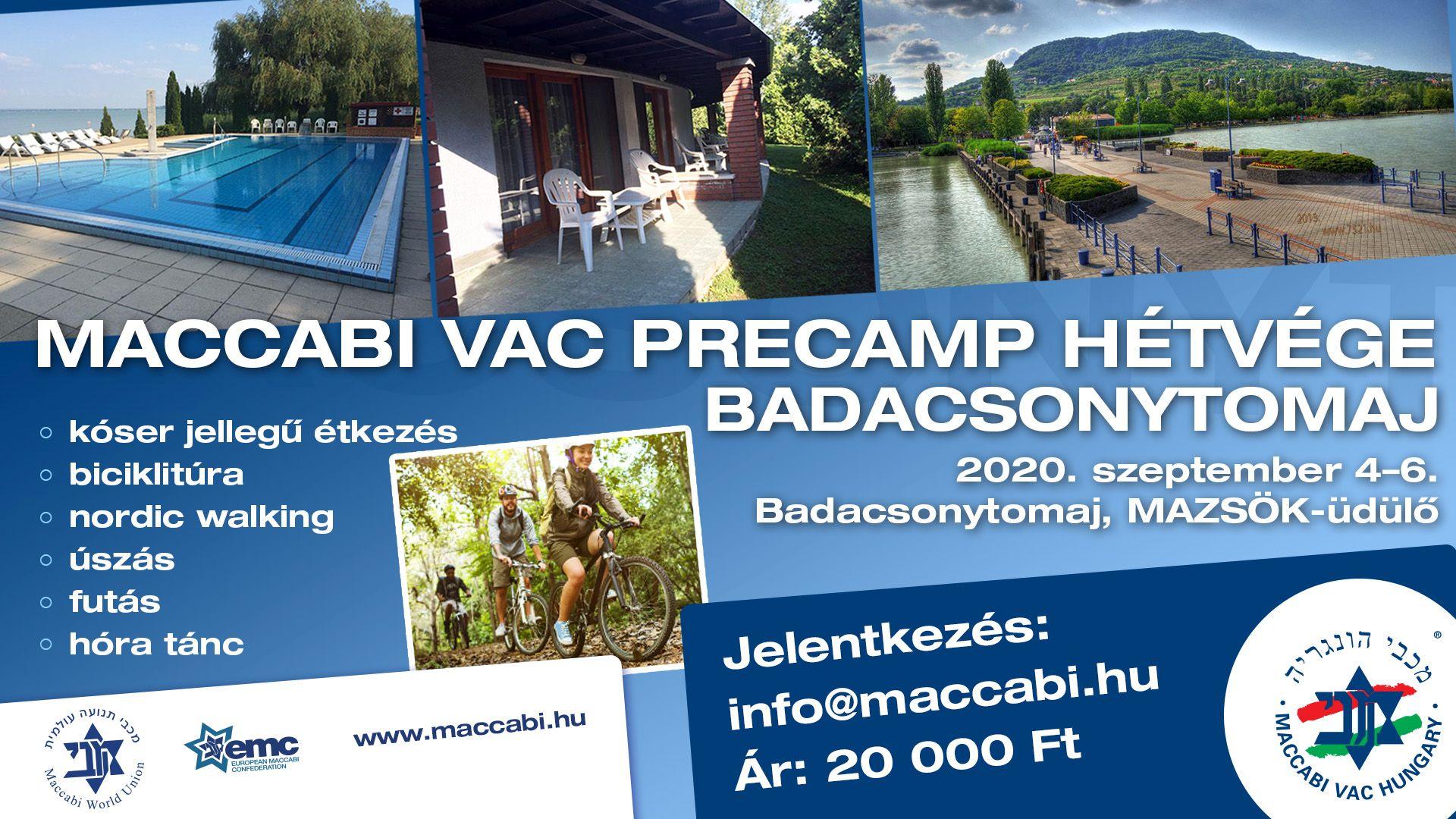 Maccabi VAC Precamp hétvége