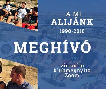 A MI ALIJÁNK 1990 – 2010 MEGHÍVÓ